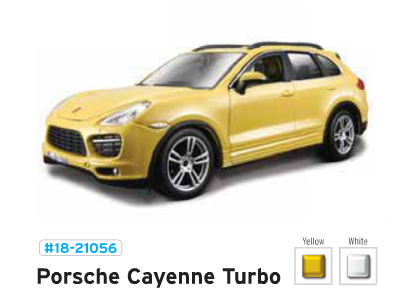 1:24 A/M Star Porsche Cayenne Turbo /Жёдтый/